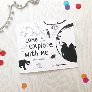 PRE-ORDER Come Explore With Me storybook