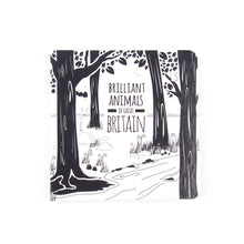 Load image into Gallery viewer, Baby book - Great Britain animals - The Little Black & White Book Project