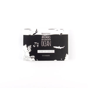 Baby flash cards - Ocean animals - The Little Black & White Book Project