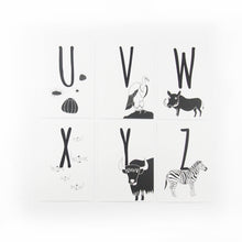 Load image into Gallery viewer, Animal Alphabet Postcards