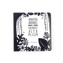 Load image into Gallery viewer, Baby book - Southeast Asia animals - The Little Black & White Book Project