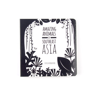 Baby book Southeast Asia animals
