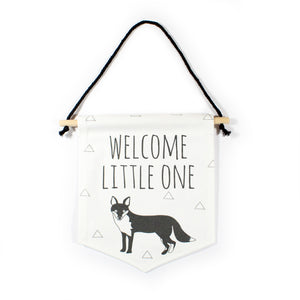 Fox flag - Welcome little one