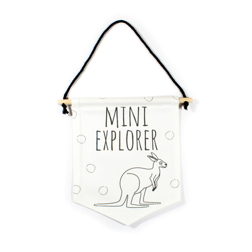 Kangaroo flag - Mini Explorer