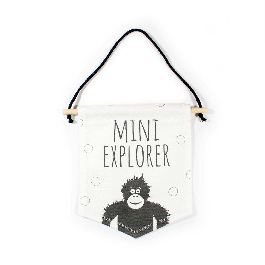 Orangutan flag - Mini Explorer