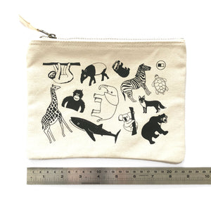 Zip pouch perfect for on the go