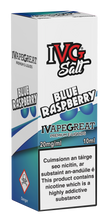 Load image into Gallery viewer, IVG Nic Salt - Blue Raspberry 10ml - OB Vape Ireland