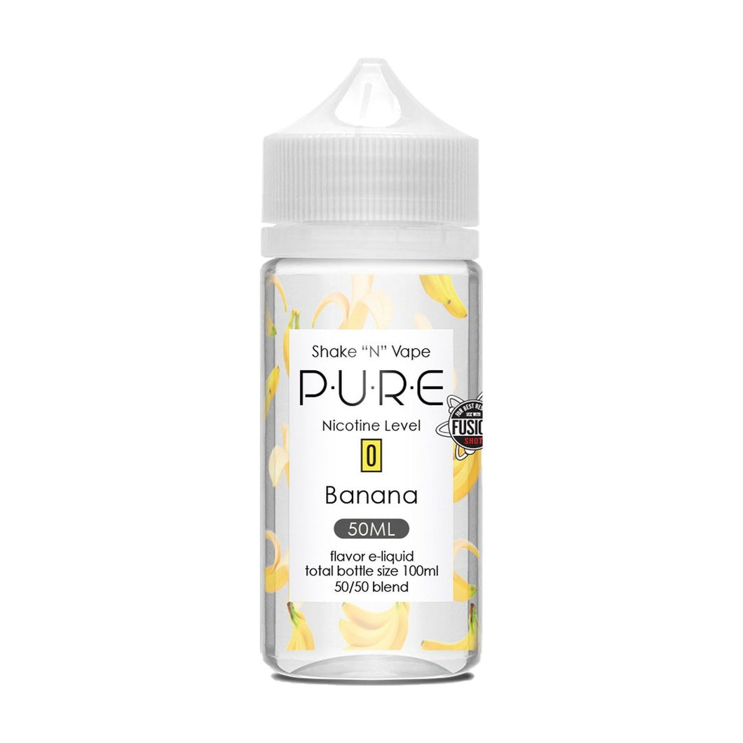 Pure - Banana 50ml - OB Vape Shop Ireland | Free Next Day Delivery Over €50 | OB Vape Ireland's Premier Vape Shop