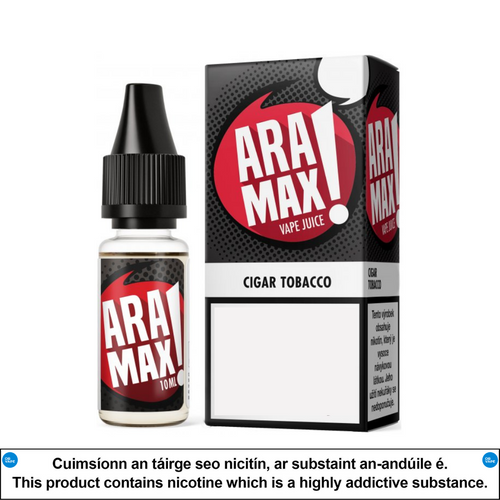 Aramax - Cigar Tobacco 10ml - OB Vape Shop Ireland | Free Next Day Delivery Over €50 | OB Vape Ireland's Premier Vape Shop