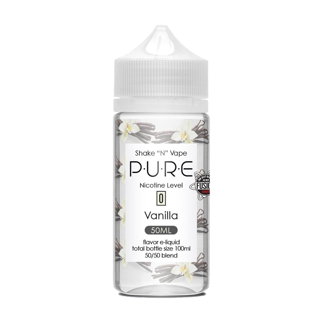 Pure - Vanilla 50ml - OB Vape Shop Ireland | Free Next Day Delivery Over €50 | OB Vape Ireland's Premier Vape Shop