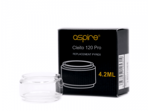Aspire Cleito 120 Pro Replacement Glass (2ml / 4.2ml) - OB Vape Ireland