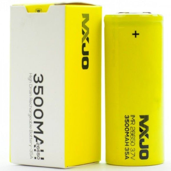 MXJO 26650 Battery - 3500mAh 35A - OB Vape Ireland