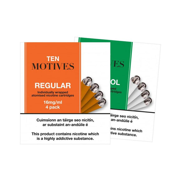 Ten Motives E-Cigarette Refill - OB Vape Ireland
