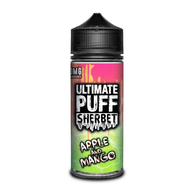 Ultimate Puff - Apple & Mango Sherbet 100ml - OB Vape