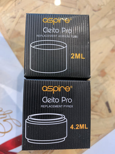 Aspire Cleito Pro Glass - OB Vape Ireland