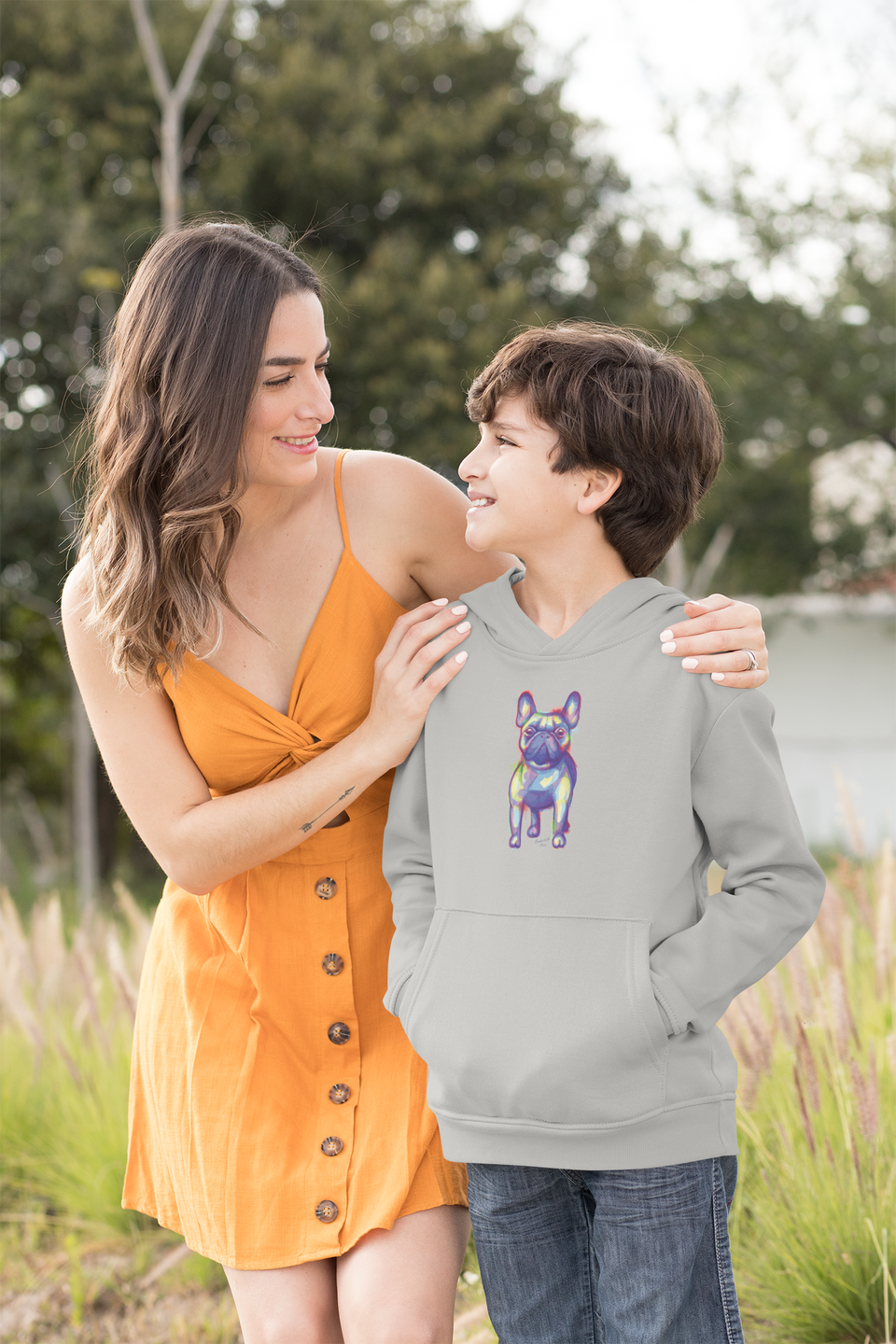 English Bulldog Kids Hoodie