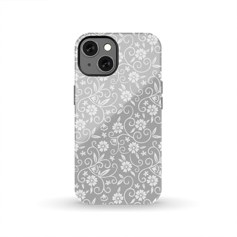 [Tough] Gray Ornate Pattern