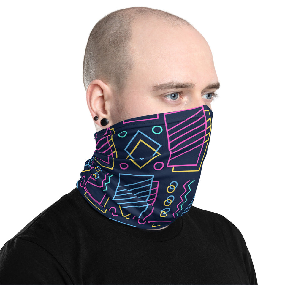 Shape Art Neck Gaiter
