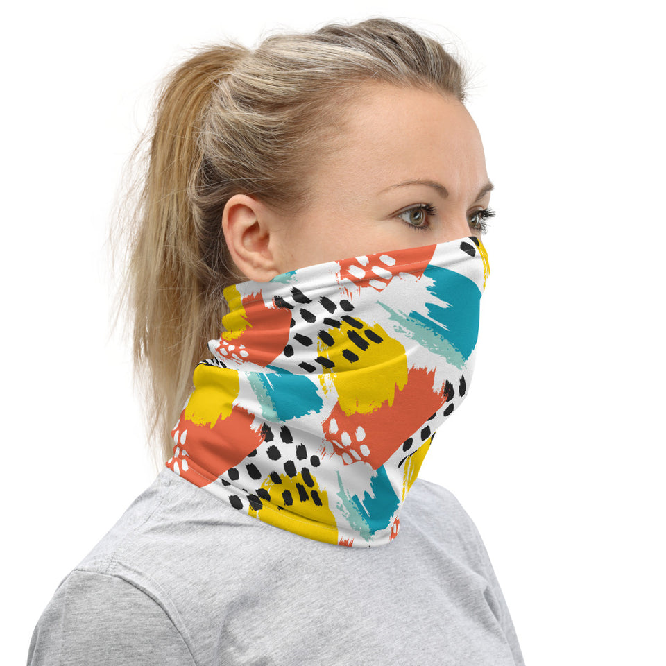 Abstract Summer Neck Gaiter