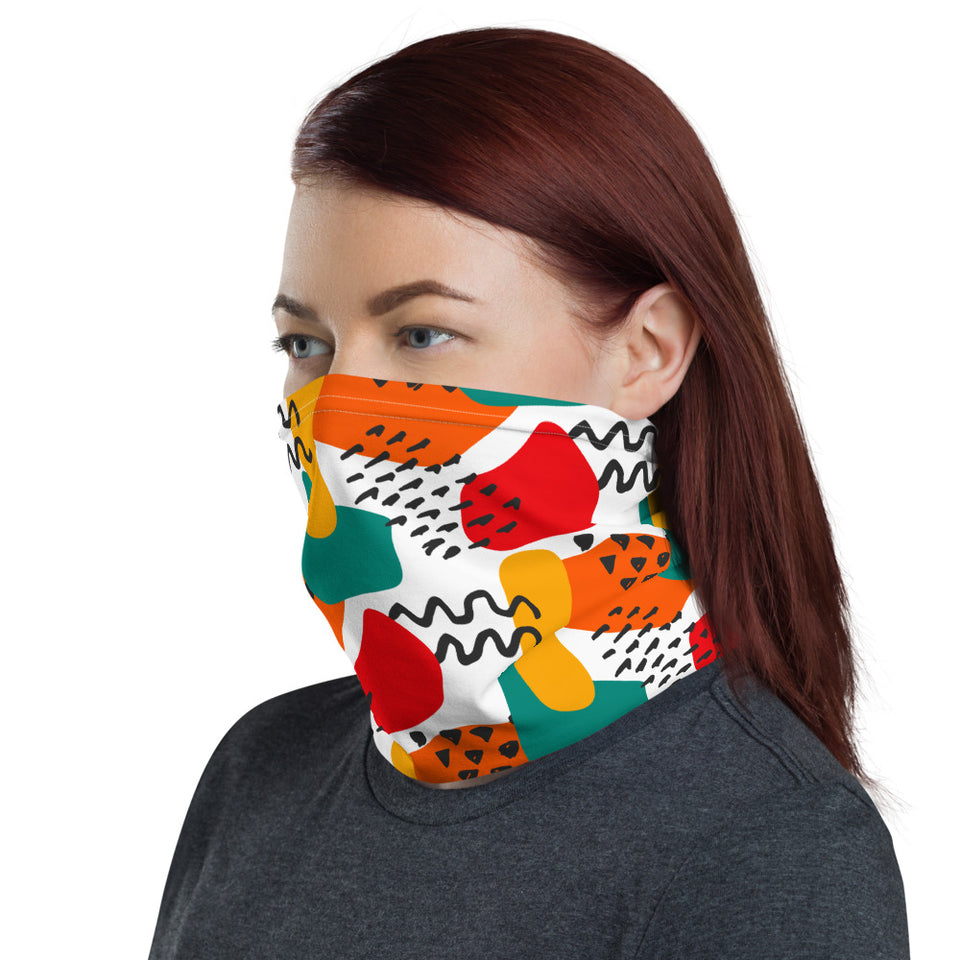 Abstract Watermelon Art Neck Gaiter