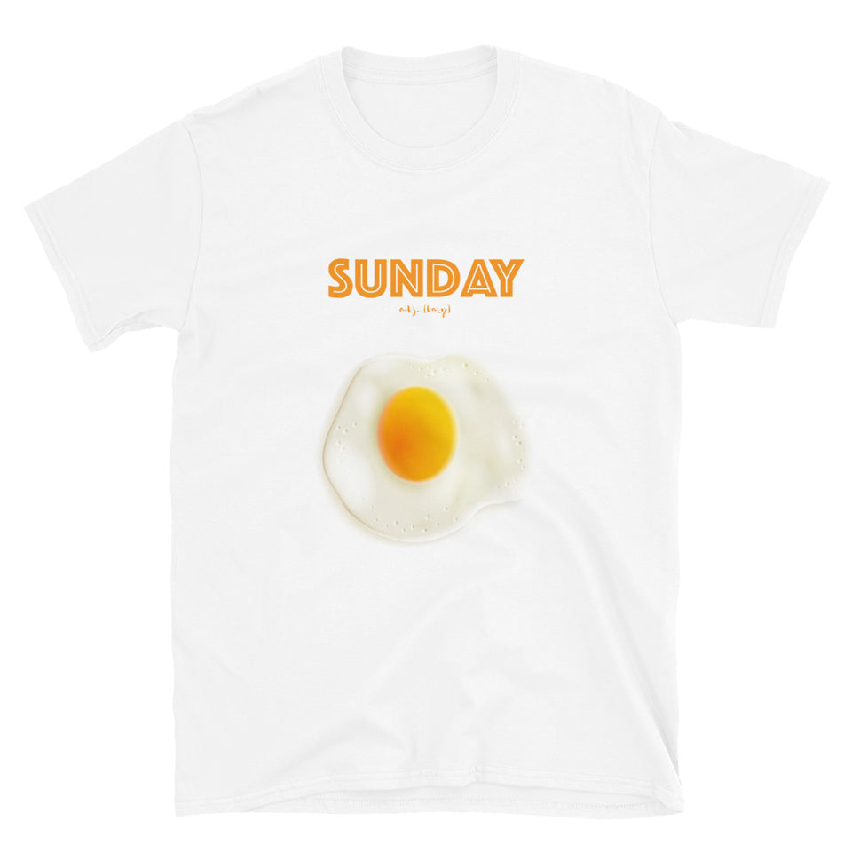Sunday Egg Unisex Tee