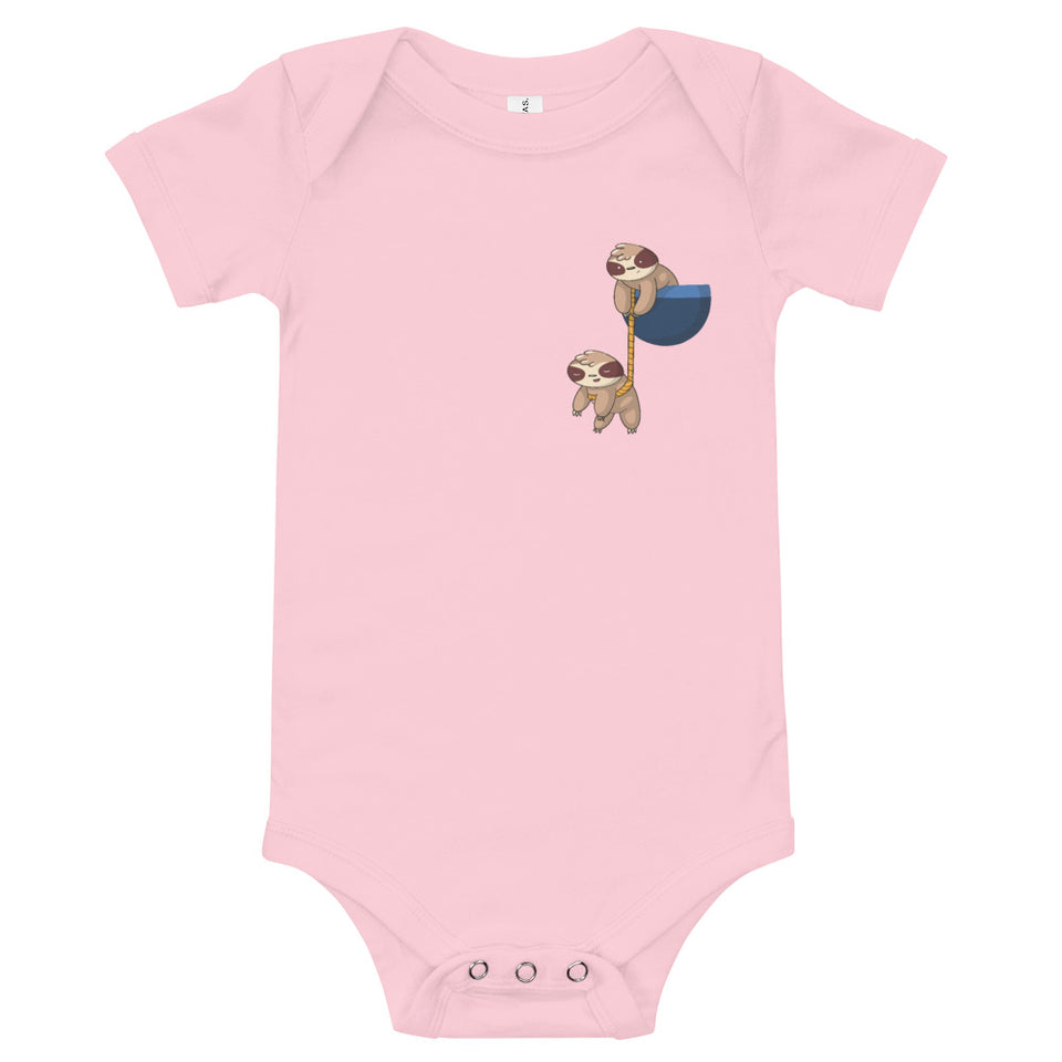 Sloth Pocket Babysuit