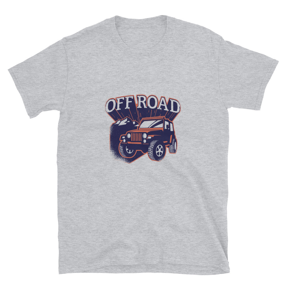 Off Road Unisex T-Shirt (Sport Grey)