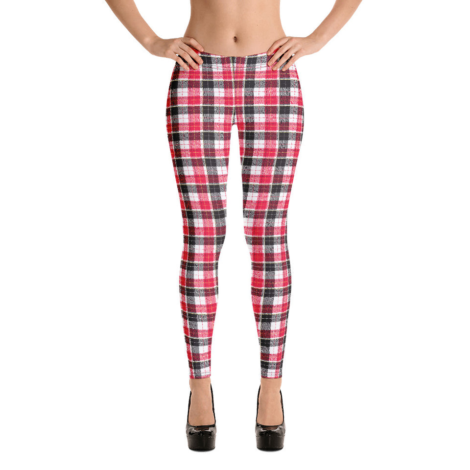 Red/Black Narrow Plaid