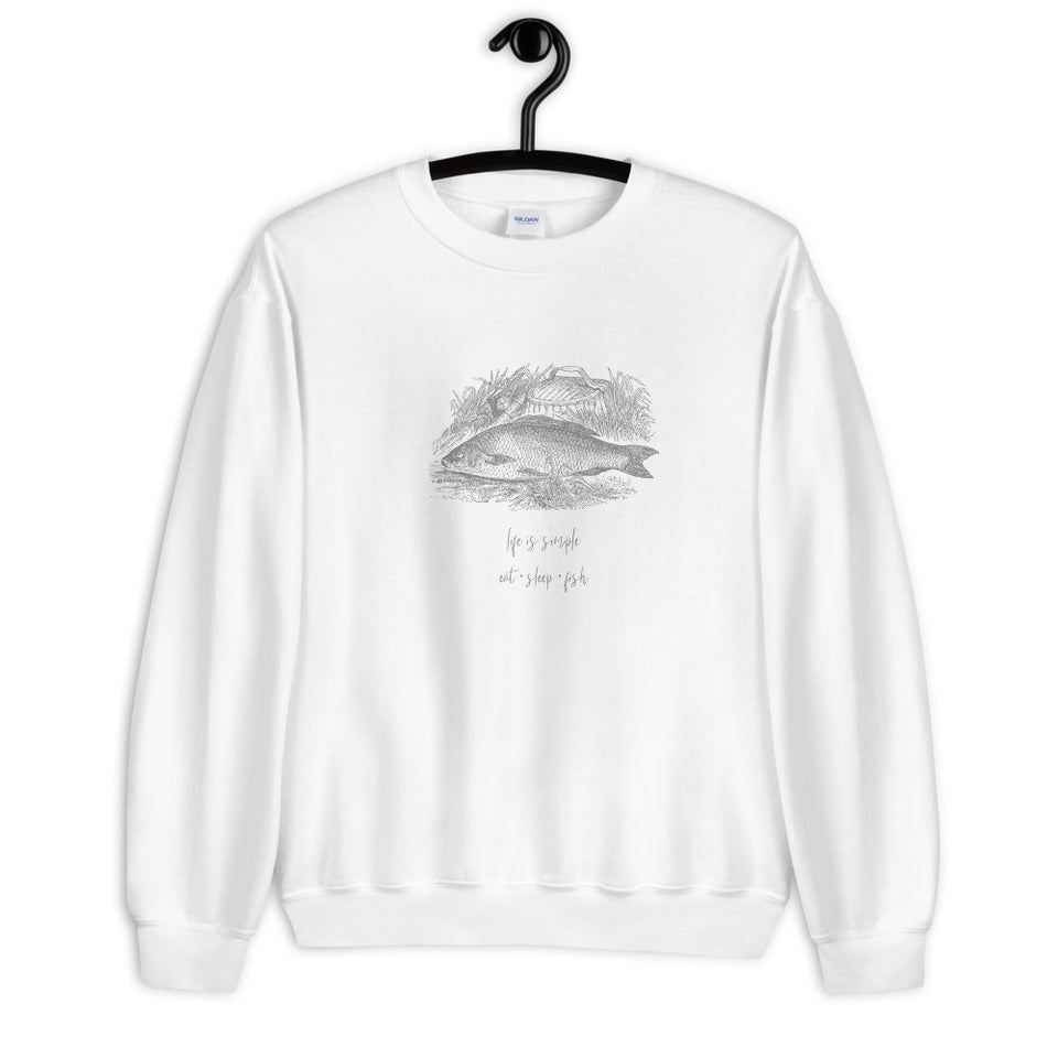Fun Fishing Unisex Sweatshirt