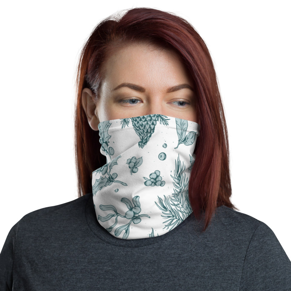 Winter Botanic Neck Gaiter