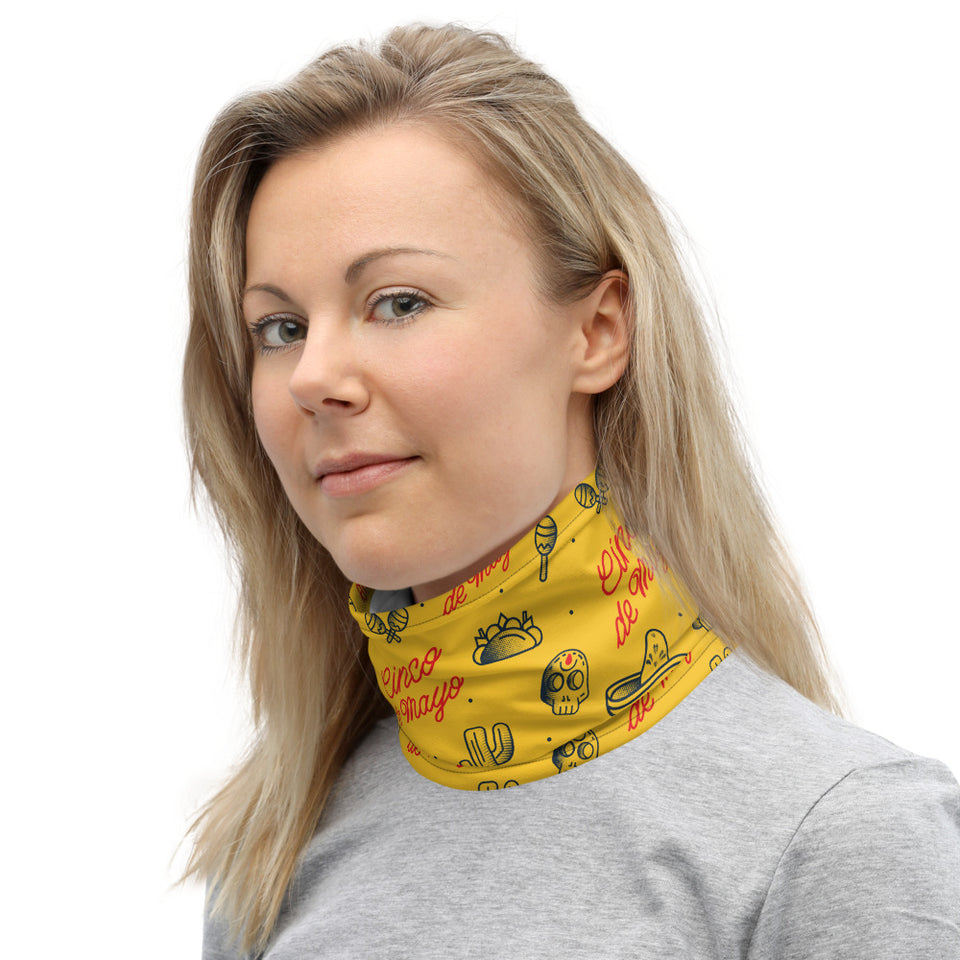 Mexican Cinco de Mayo Neck Gaiter