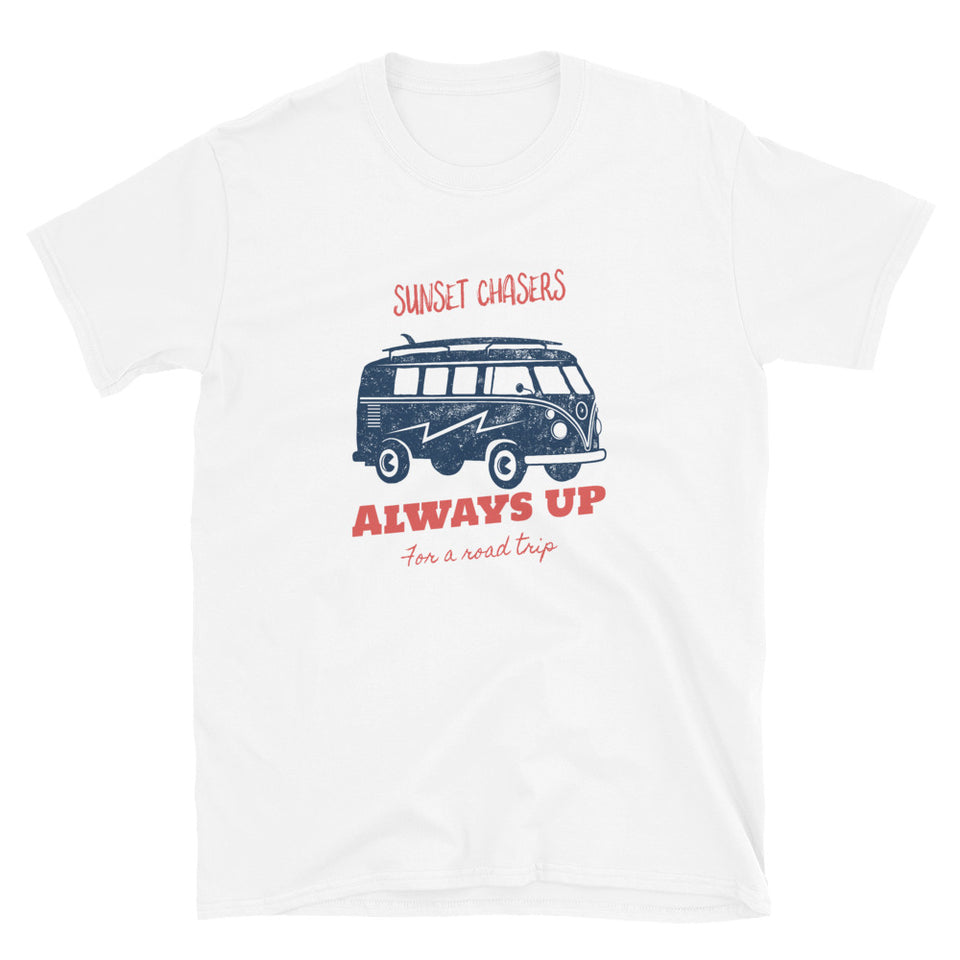 Sunset Chasers Roadtrip Van  Unisex T-Shirt