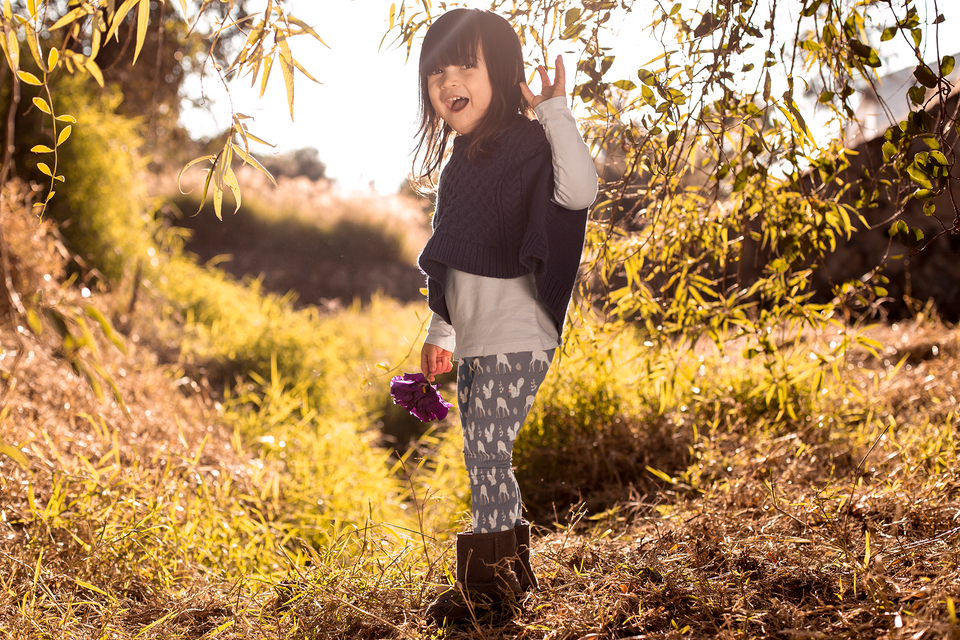 Autumn Animal - Kid's Leggings