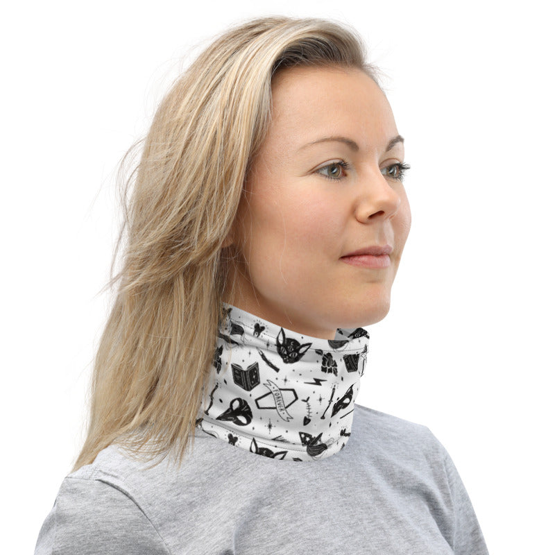 Halloween Black Witches Neck Gaiter