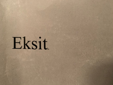 Eksit - A novel of essay fiction