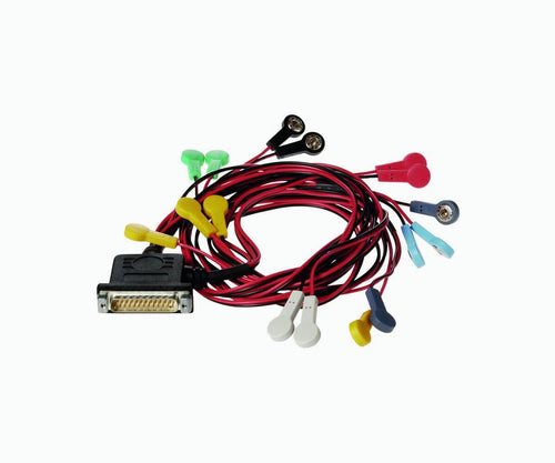 Cable set for electrode vest
