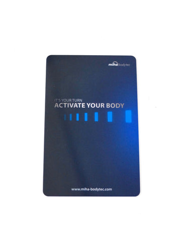miha bodytec transponder card (for miha bodytec II device)