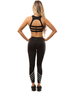 Laguna Set - Leggings & Sports Bra - Black