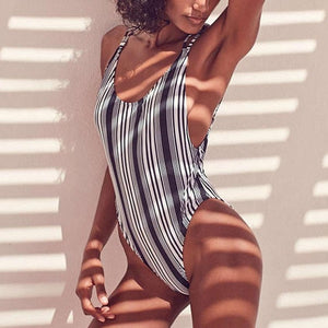 Charming Stripe Swimsuit