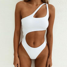 Load image into Gallery viewer, Hollow Out One-Piece Swimsuit