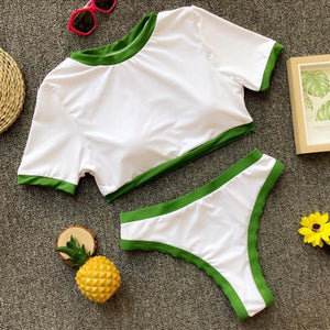 Solid Sport Bikini Set swimsuit