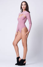 Load image into Gallery viewer, Long Sleeve Cutout Detail Bodysuit