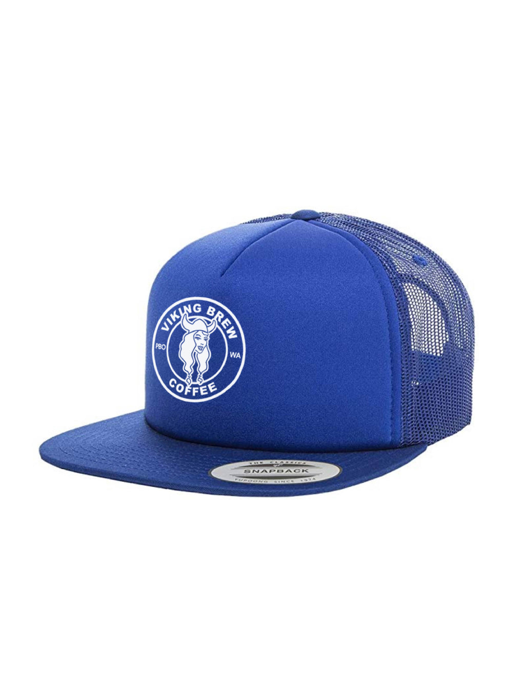 Viking Brew Royal Blue Foam Hat