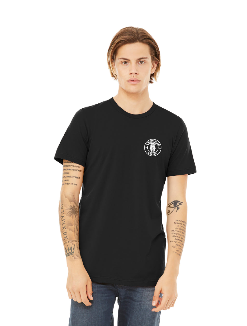 Viking Brew Crew Neck Black T-Shirt