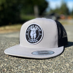 Viking Brew - Grey Snap Back Hat