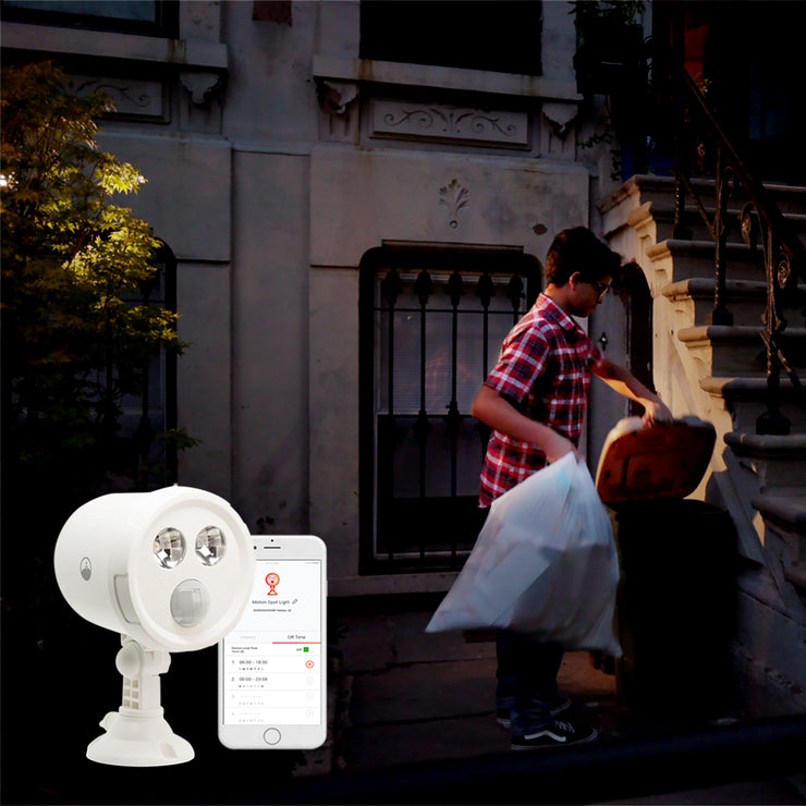 Wi-Fi Outdoor Motion Triggered Spot Light