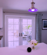 Fox & Summit Wi-Fi LED Light Bulb RGB