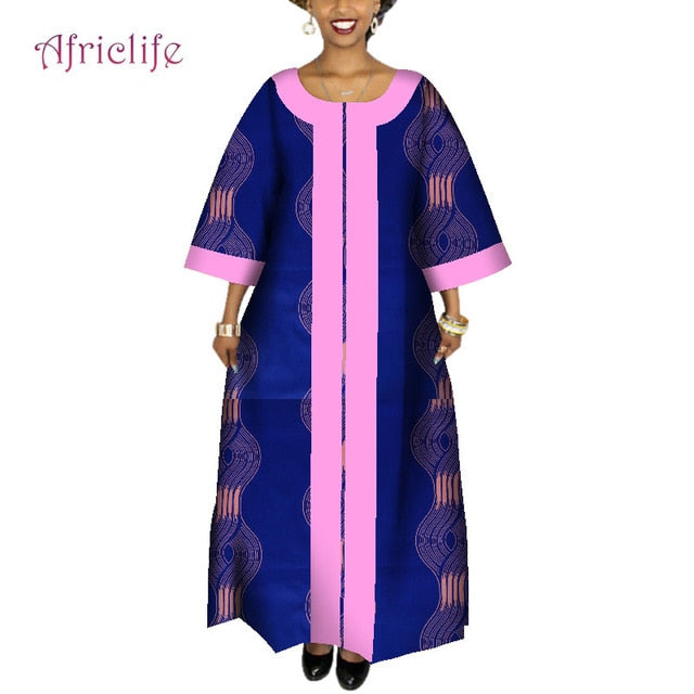 2019 African Dresses for Women Plus Size Fashion Design New African ...
