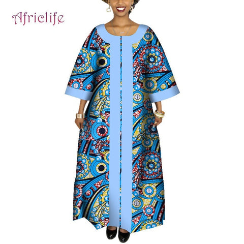6da9c7e7138a ... Image of 2019 African Dresses for Women Plus Size Fashion Design New  African Bazin Casual Long ...