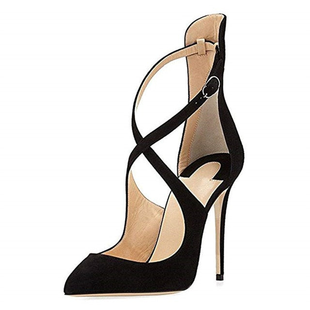 7d15ccee8 ASUMER 2019 fashion spring new pumps women shoes pointed toe buckle super high  heels shoes thin. Hover to zoom